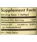 Solgar - Vitamin D3 10000 Iu, 10000, 120 softgels