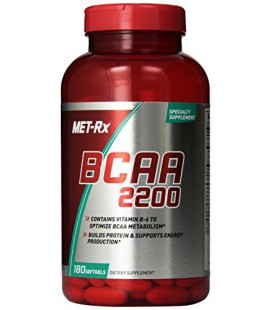 MET-Rx BCAA 2200 180 capsules