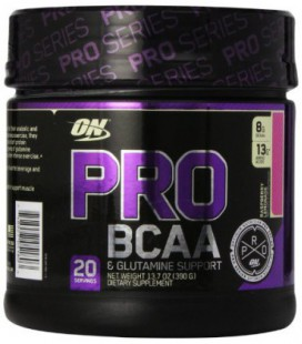 Optimum Nutrition Pro BCAA Drink Mix, limonade framboise (13.7 Ounce)