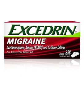 Excedrin pour soulager la migraine (200 capsules)