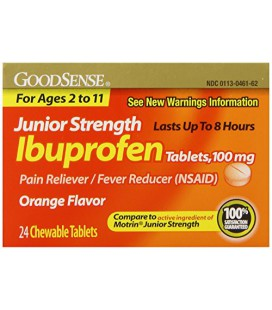 Ibuprofene pour enfant, 100 mg, 24 comprimés