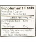 Joint Uc LI collagène non dénaturé Type 2 (60 capsules)