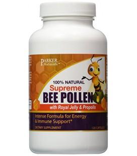 Supreme BEE pollen - Gelée Royale et Propolis - 120 capsules végétariennes