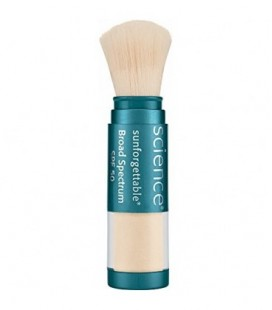 Colorescience Sunforgettable Mineral SPF 50 Sunscreen Brush, Fair, 0.21 oz.