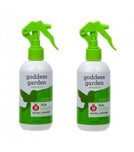 Goddess Garden SPF 30 Sunny Kids Natural Sunscreen Trigger Spray, 8.0 Ounce (Pack of 2)