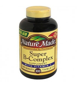 Nature Made Super Vitamin B-Complex with Vitamin C - 300 Tab