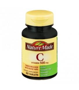 Nature Made vitamine C 500 mg Comprimés - 60 CT