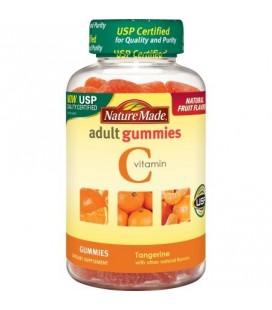 Nature Made vitamine C adulte gélifiés Orange 80 ch