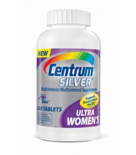 Centrum Ultra Silver, For Women 50+, 200-Count Bottle