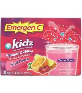 Emergen-C Kidz vitamine C Fruit Punch 30 CT