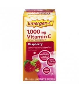 Emergen-C Packets framboise supplément diététique 03 oz