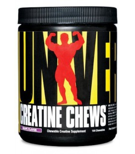 Universal Creatine Chews, raisin 144 tabls