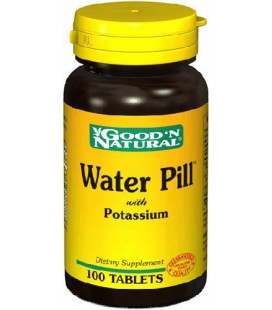 Water Pill with Potassium 100 Tab - Good'n Natural