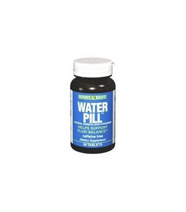 Water Pill Natural Diuretic With Potassium, Caffeine Free Ta