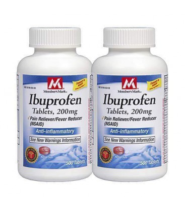Member's Mark Ibuprofen Pain Reliever/fever Reducer 200 Mg,