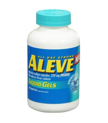 Aleve Liquid Gels-Pain Reliever Formula, 160 Liquid Gels