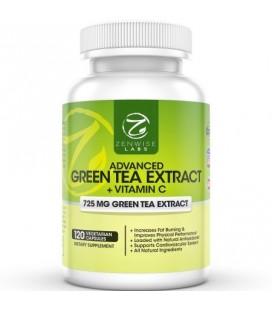 Thé vert Supplément extrait avec EGCG pour la perte de poids - décaféiné végétarien pilules pour stimuler le métabolisme