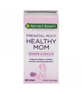 Nature's Bounty Optimal Solutions en santé prénatale maman multi Gélules 60 Ct