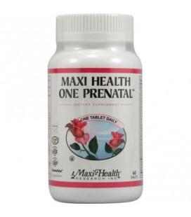 Maxi Health Un comprimés prénatal 60 Ct