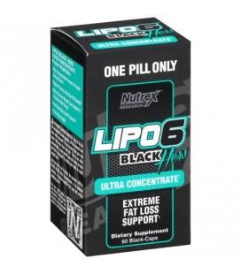 Lipo-6 Black Ultra concentré pour elle 60 Count