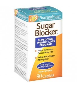 PharmaPure Slim Down Programme perte de poids de sucre Blocker 90 ct