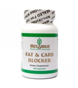 Metabolic Research Center Fat et Bloqueur de Glucides 90 count