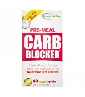 APPLIED NUTRITION Pré-repas Bloqueur de Glucides Veggie Caps 40 Ct