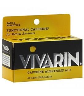 Vivarin La caféine aide Vivacité d'esprit comprimés 40 ch (Pack de 4)