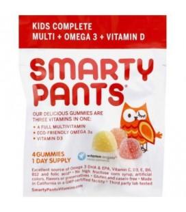 Smarty Pants multivitamines - Complete - Gummy - Enfants 046 OZ (paquet de 15)
