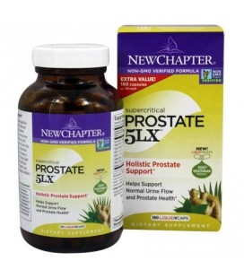New Chapter - prostate 5LX - 180 Vegetarian Capsules