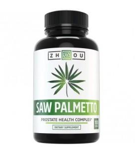 Saw Palmetto Capsules pour la santé de la prostate - Extrait et poudre Berry complexe pour réduire mictions fréquentes - DHT