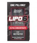 Nutrex Research Lipo-6 Supplément Ultra noir concentré, 60 Count