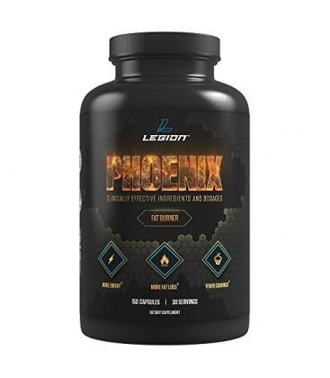 LEGION Athletics Phoenix - sans caféine Fat Burner et Appétit pour la perte de poids plus rapide - 100% naturel &