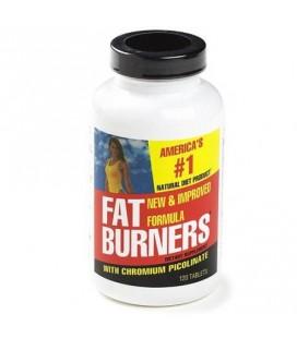 Fat Burners Avec le picolinate de chrome 120-Count