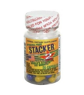 Stacker 2 Fat Burner capsules éphédra 20 capsules