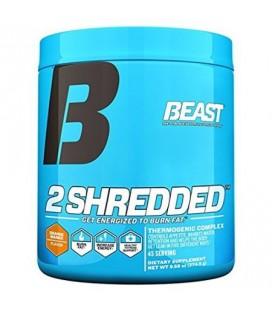 Beast Sports 2 Shredded poudre de poids thermogénique de supplément de perte. Agit comme un brûleur de graisse Appétit et pi