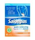 Salonpas 6 Patchs chauffants anti-douleur