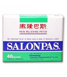 Salonpas Soulager la douleur Patch 40 patches