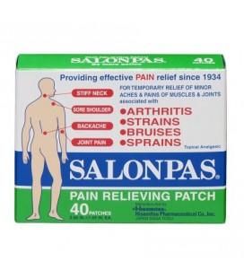Patch anti douleur Salonpas - 40 patches
