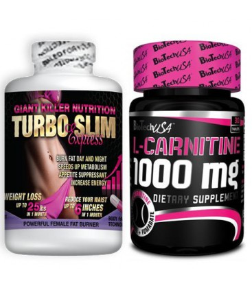 Pack Ventre Plat Turbo Slim et L-Carnitine