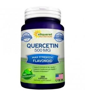 Pur quercétine Supplément 500mg - 200 Capsules - quercétine dihydraté pour soutenir la santé cardiovasculaire - Max Force p