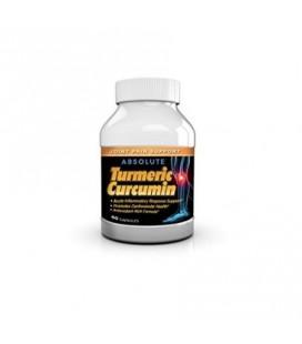 Absolute Nutrition Curcuma curcumine extrait Supplément anti-inflammatoires anti-oxydant 95% de curcuminoïdes 60 capsules
