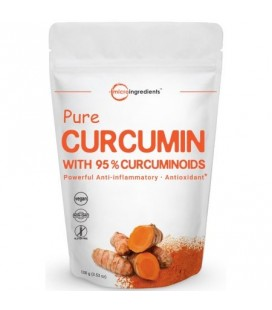 Extra Strength Premium curcumine pur à 95% (Curcuma curcumine Extrait) en poudre 1 Pack Anti-inflammatoires puissants (100 Anti