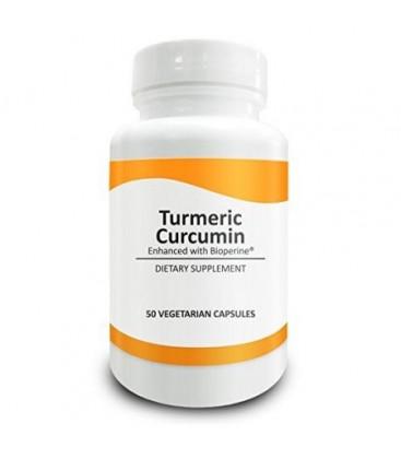 La science pure Curcuma (Curcuma longa) 600mg - Standardisé à 95% Curcuminoïdes (50mg) et BioPerine (5mg) - Anti-inflammatoir