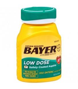 Aspirine Bayer Regimen 81 mg comprimés ENROBAGE 300ct