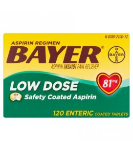 Regimen Aspirine a faible dose 81mg 120 Caps