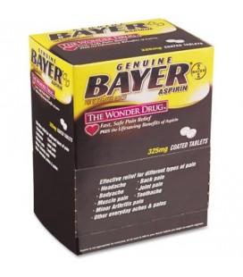 Bayer Aspirine Analgésique - Fièvre Réducteur Comprimés enrobés 325 mg 50 count