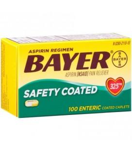 Aspirine Bayer Regimen 81 mg comprimés ENROBAGE 100CT