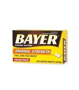 Bayer Aspirine Analgésique 325 mg - 200 comprimés