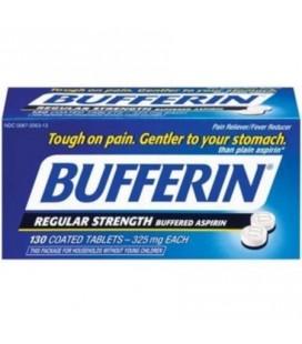 Bufferin Aspirine tamponné 130 Caps (Paquet de 2)